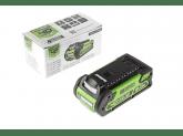 Пила цепная аккумуляторная G-MAX 40V GREENWORKS GD40CS40K2, Масло для смазки цепи в подарок!