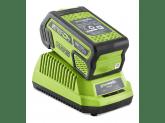 Пила цепная аккумуляторная G-MAX 40V GREENWORKS GD40CS40K6, Цепь Oregon для электропилы 40 см, Масло для смазки цепи в подарок!