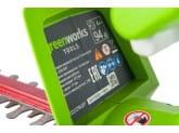 Кусторез аккумуляторный G24 24V GREENWORKS G24HT
