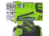 Дрель-шуруповерт ударная аккумуляторная 24V GREENWORKS G24CDK2