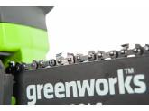Пила цепная аккумуляторная G-24 24V GREENWORKS G24CS25K2
