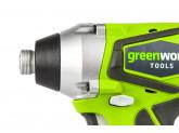 Винтоверт ударный G24 24V GREENWORKS G24IDK2