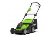 Газонокосилка аккумуляторная G-MAX 40V GREENWORKS G40LM41K6 + Ножницы для травы Gardena Classic в подарок!