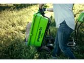 Тележка садовая самоходная G-MAX 40V GREENWORKS G40GCK6