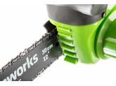 Пила цепная аккумуляторная G-MAX 40V GREENWORKS G40CS30K2