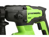 Перфоратор аккумуляторный G24 24V GREENWORKS GD24SDS2
