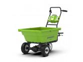 Тележка садовая самоходная 106 л G-MAX 40V GREENWORKS G40GC