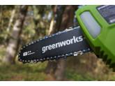 Высоторез-сучкорез аккумуляторный G-MAX 40V GREENWORKS G40PSF