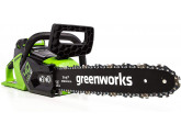 Пила цепная аккумуляторная G-MAX 40V GREENWORKS GD40CS15