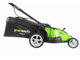Газонокосилка G-MAX 40V GREENWORKS Twin Force G40LM49DB + Ножницы для травы Gardena Classic в подарок!