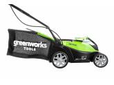 Газонокосилка аккумуляторная G-MAX 40V GREENWORKS G40LM35 NEW