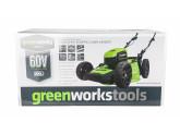 Газонокосилка аккумуляторная GD-60 60V GreenWorks GD60LM46HPK4
