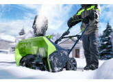 Снегоуборщик Greenworks GD60ST 60V (51 см) бесщёточный аккумуляторный с АКБ 4 А/ч и ЗУ