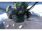 Снегоуборщик GREENWORKS GD60ST 60V (51 см) бесщёточный аккумуляторный с АКБ 6 А/ч и ЗУ