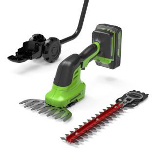 Садовые ножницы-кусторез аккумуляторные GREENWORKS G24SHT (без АКБ и ЗУ)