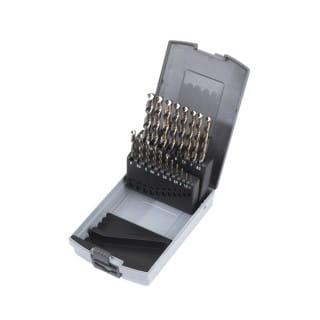 Набор сверл по металлу  HSS-G Cobalt DIN338 Set (19шт)