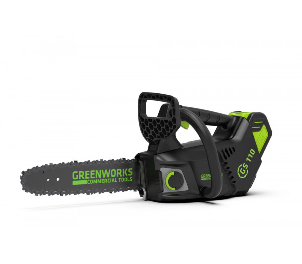 Пила цепная аккумуляторная G-MAX 40V GREENWORKS GD40TCS + Масло для цепи ForestPlus, 1 л в подарок!