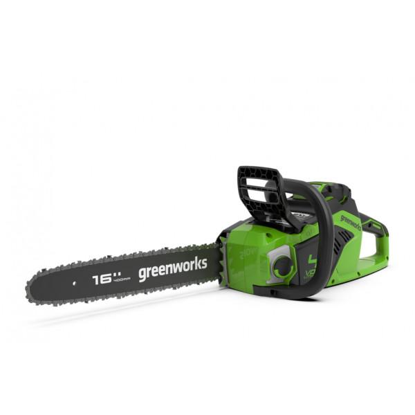 Пила цепная аккумуляторная G-MAX 40V GREENWORKS GD40CS18 с АКБ 2АЧ и ЗУ