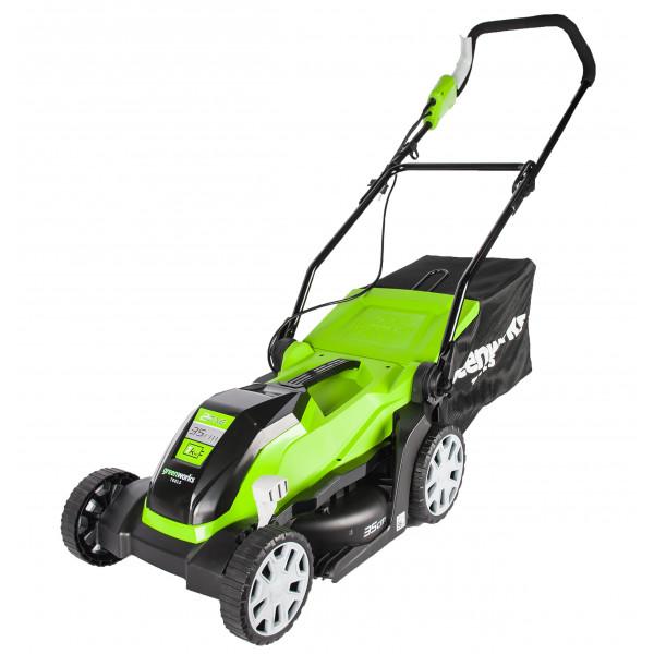 Газонокосилка электрическая 1000W GreenWorks GLM1035