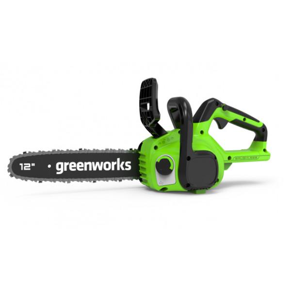 Пила цепная аккумуляторная 24V GREENWORKS GD24CS30