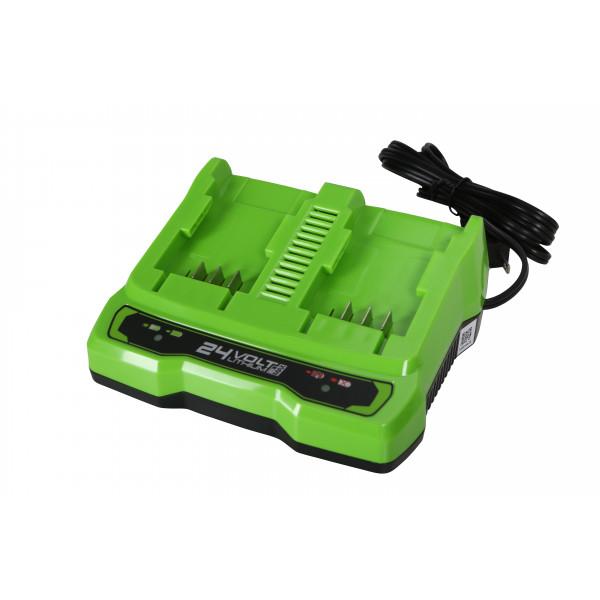 Зарядное устройство на 2 слота GREENWORKS G24C