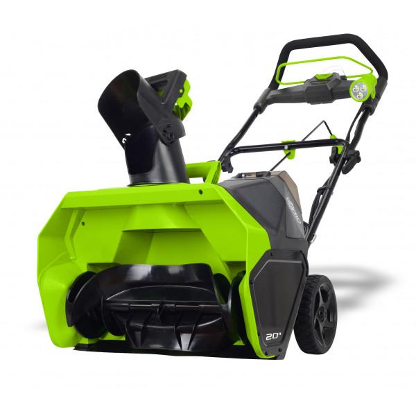 Снегоуборщик аккумуляторный G-MAX 40V GREENWORKS GD40STK4