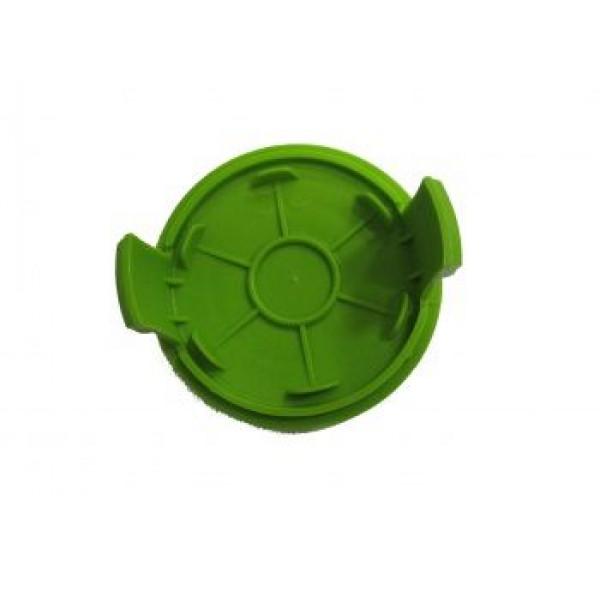 Крышка шпули пластиковая зеленая для триммера GREENWORKS 220V 500W