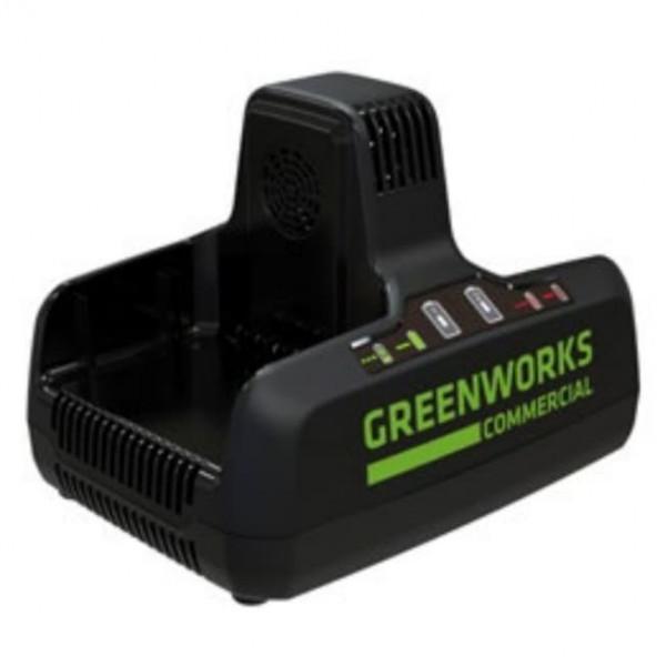 Зарядное устройство на 2 слота Greenworks G82C2 82V