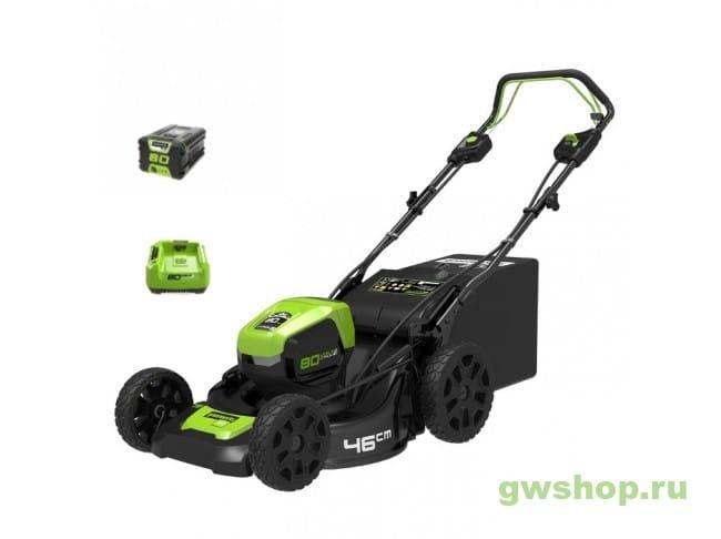 GD80LM46SPK4 2501007UB в фирменном магазине GreenWorks