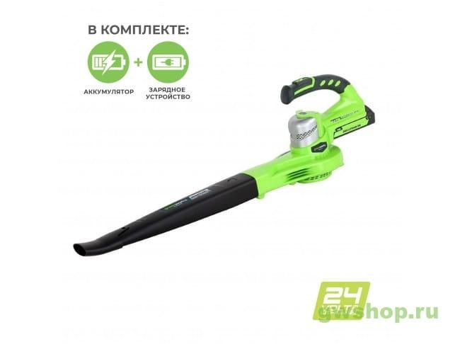 G24AB VA 2400007VA в фирменном магазине GreenWorks
