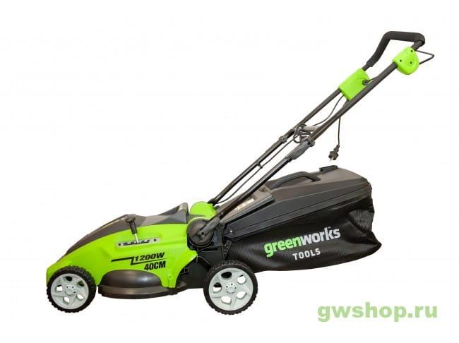 GLM1241 2505207,25147 в фирменном магазине GreenWorks