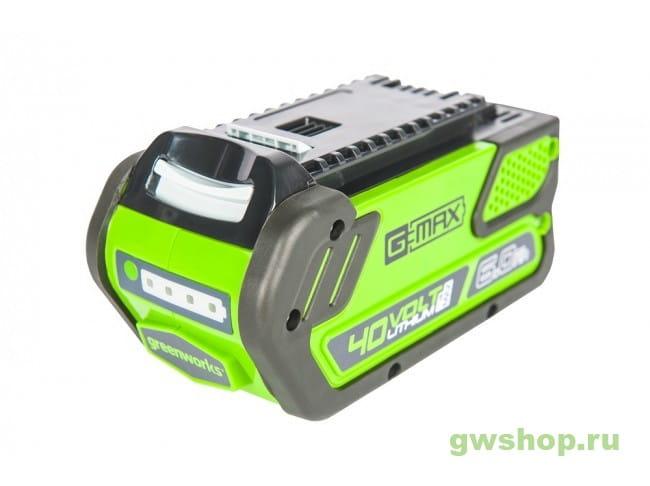 G40B6 2923307 в фирменном магазине GreenWorks