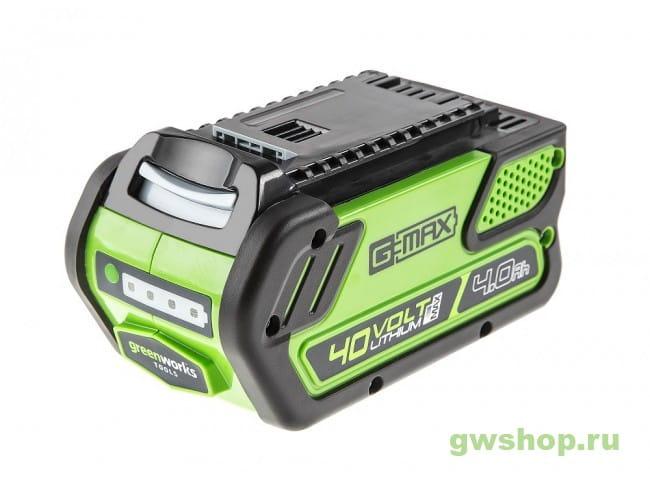 G40B4 29727 в фирменном магазине GreenWorks