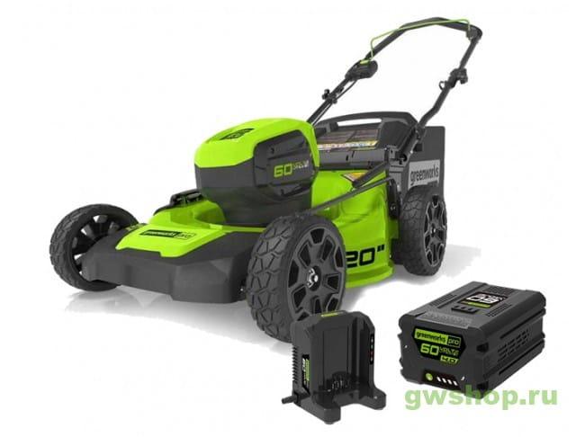 GD60LM51HPK4 2502707UB в фирменном магазине GreenWorks