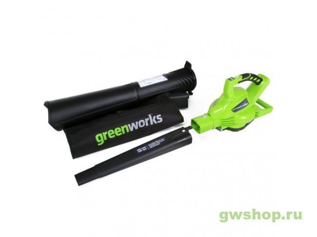 GD40BVK6 24227UF в фирменном магазине GreenWorks