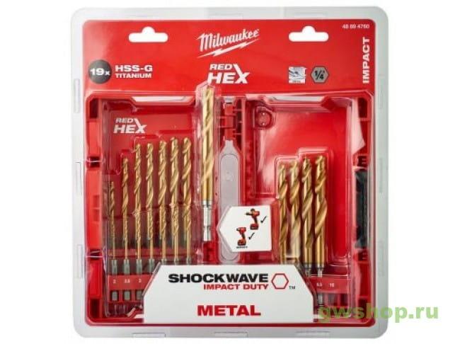 Shockwave HSS-G Tin Red Hex (19 шт) 48894760 в фирменном магазине