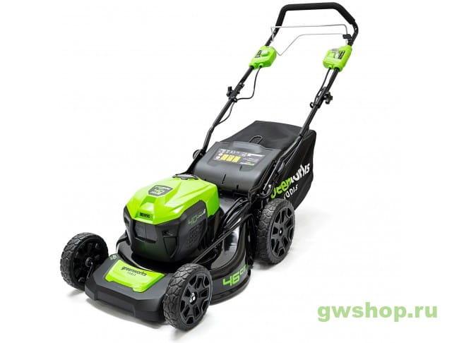 GD40LM46SPK6X 2506807UF в фирменном магазине GreenWorks