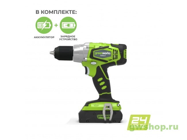 G24DDUA 3701507UA в фирменном магазине GreenWorks