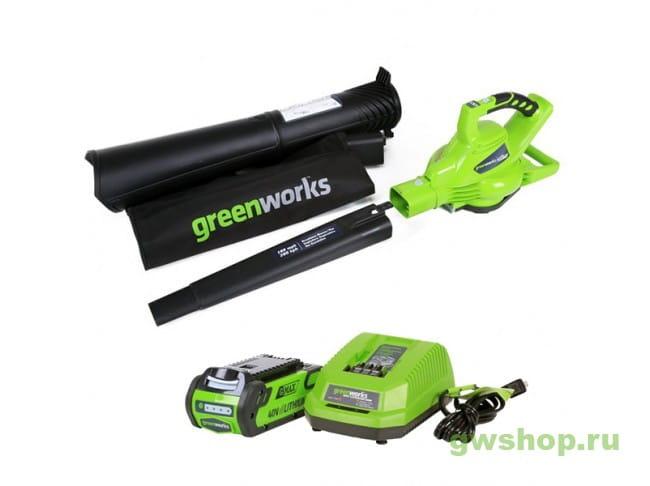 GD40BVK3 24227UE в фирменном магазине GreenWorks