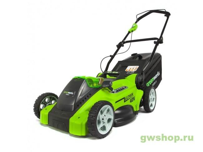 G40LM40 2500007 в фирменном магазине GreenWorks