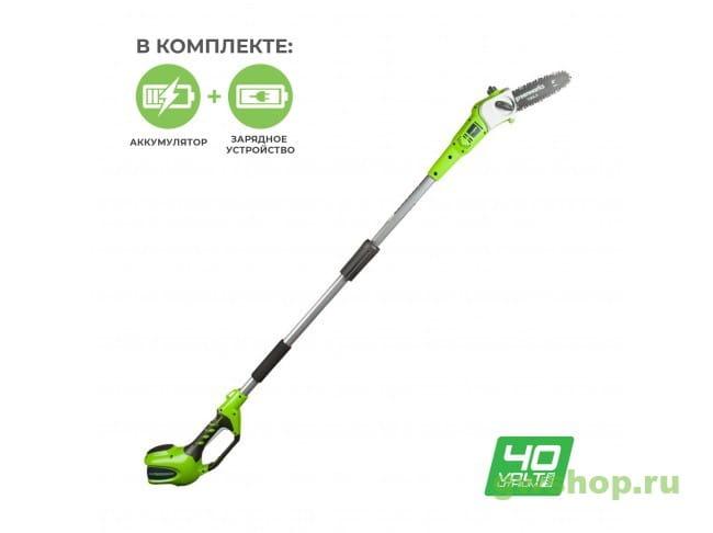 G40PS20K2 20157UA в фирменном магазине GreenWorks