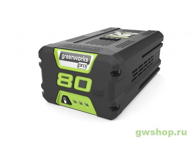G80B4 2927407 в фирменном магазине GreenWorks