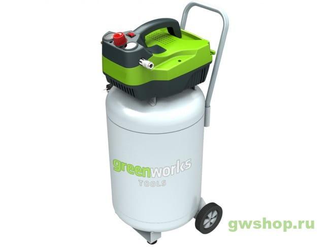 Компрессор электрический GREENWORKS GAC50