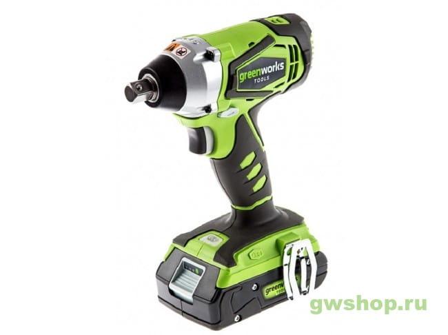 G24IW 3801207 в фирменном магазине GreenWorks