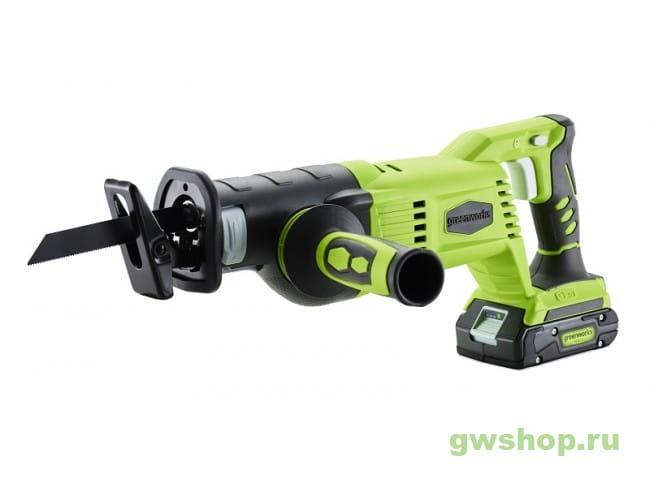 G24RS 1200007 в фирменном магазине GreenWorks