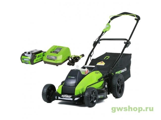 GD40LM45K4 2500407UB в фирменном магазине GreenWorks