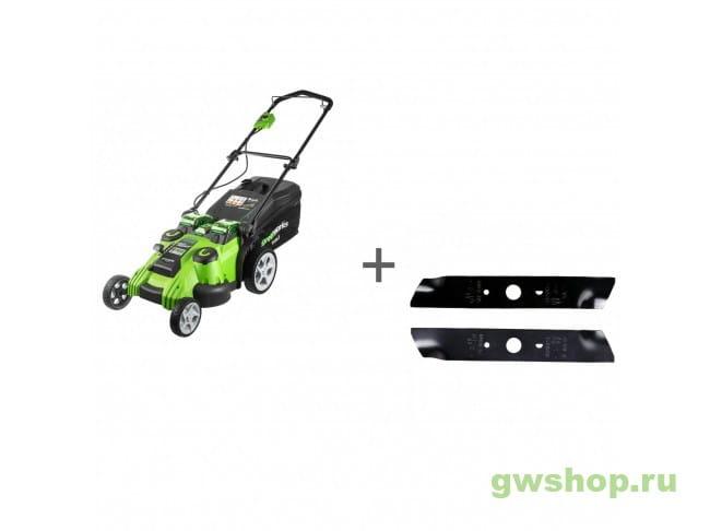 G40LM49DB2K, 29207 2500207VB, 29207 в фирменном магазине GreenWorks