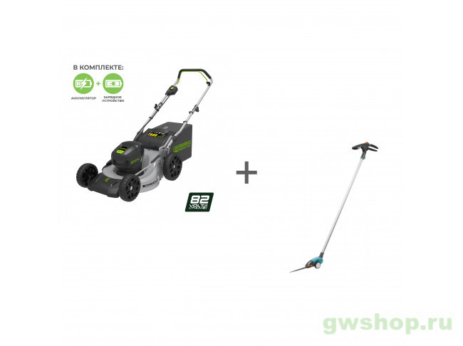 GC82LM46K5, 12100 2502407UB, 12100-20.000.00 в фирменном магазине GreenWorks