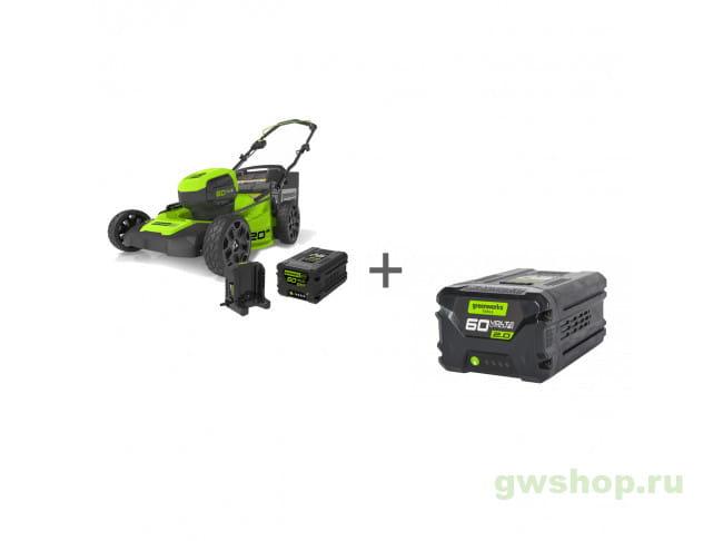 GD60LM51HPK4, G60B2 2502707UB, 2918307 в фирменном магазине GreenWorks