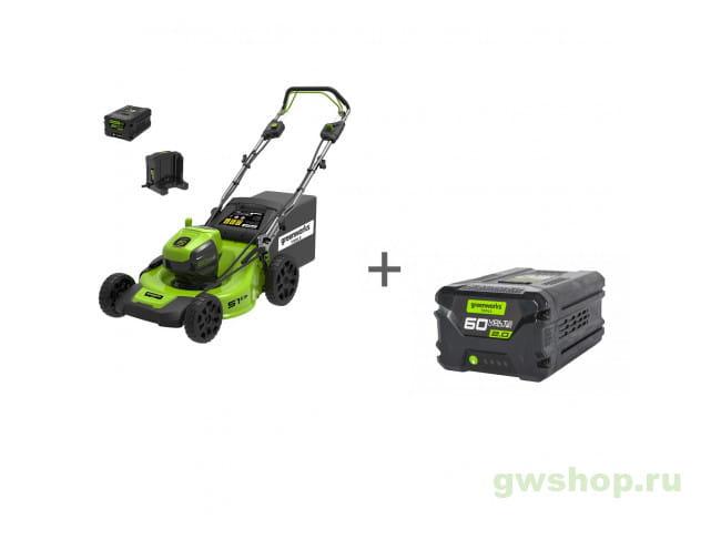 GD60LM51SP UB, G60B2 2505607UB, 2918307 в фирменном магазине GreenWorks